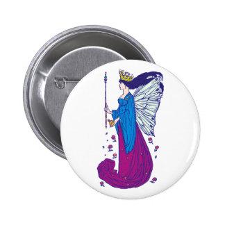 Elf queen Titania eleven queen 6 Cm Round Badge