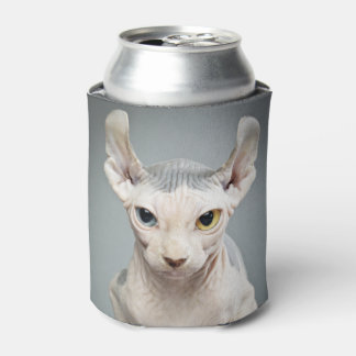 Elf Sphinx Cat Photograph Image Can Cooler