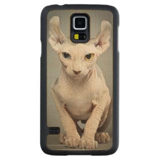 Elf Sphinx Cat Photograph Image Maple Galaxy S5 Slim Case