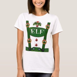 Elf Suit Funny Costume T-Shirt