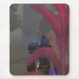 Elf traveller mouse pad