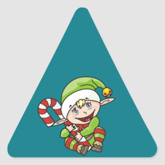 Elf Triangle Sticker