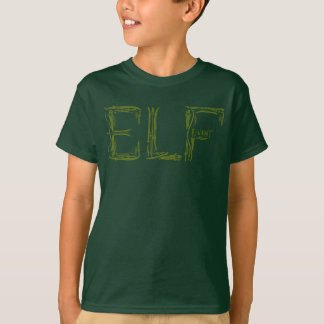 Elf Weapons Collage T-Shirt