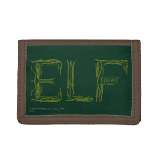 Elf Weapons Collage Tri-fold Wallet