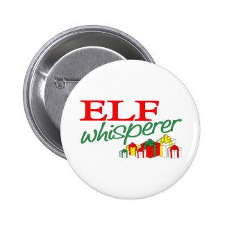 Elf Whisperer Pinback Button
