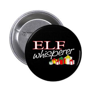 Elf Whisperer Pinback Buttons