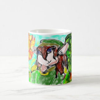 elf with sunny magic mug