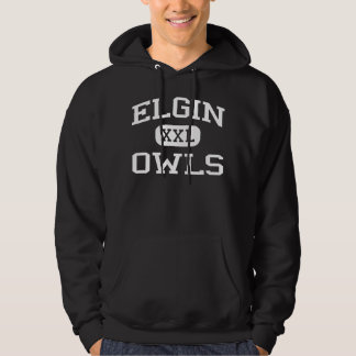 Elgin - Owls - Elgin High School - Elgin Oklahoma Hoodie