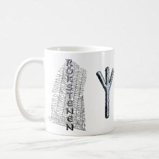 Elhaz rune mug