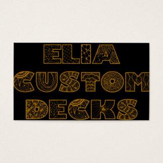 elias custom decks business cards
