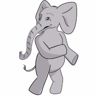 Elias Elephant Standing Photo Sculpture