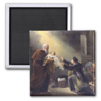 Elijah Resuscitating the Son Magnet