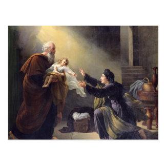Elijah Resuscitating the Son Postcard