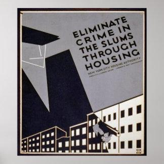Eliminate Crime in Slums? Poster