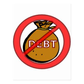 Eliminate Debt Postcard