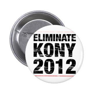 Eliminate Kony 2012 6 Cm Round Badge