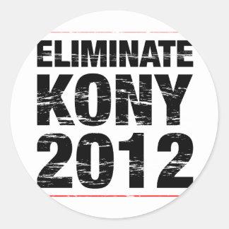 Eliminate Kony 2012 Stickers
