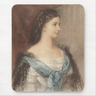 Elisabeth of Bavaria - Empress Sisi - Hapsburgs Mouse Pad