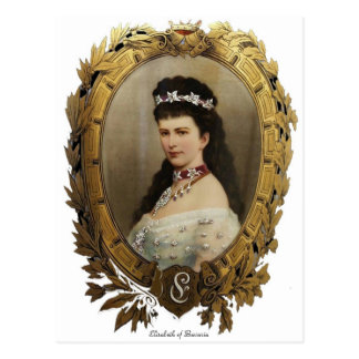 Elisabeth of Bavaria Postcard