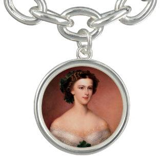 Elisabeth (Sisi) of Bavaria Charm Bracelet