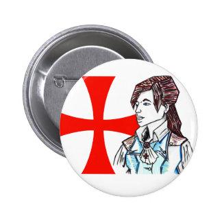 Elise de la Serre 6 Cm Round Badge