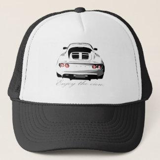 elise enjoy the view trucker hat