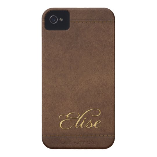 ELISE Leather-look Customised Phone Case