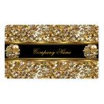 Elite Business Gold Elegant Glitter Jewel