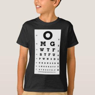 Elite Gamer Eye Chart T-Shirt