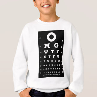 Elite Gamer Eye Chart T Shirts