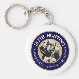 Elite Hunting Hostel Basic Round Button Key Ring