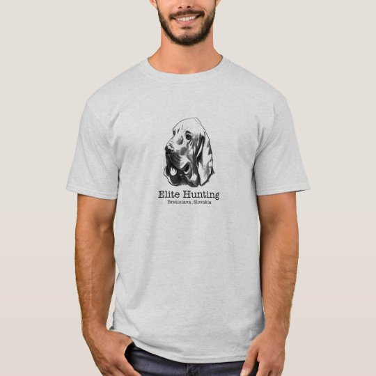 Elite Hunting (type print & location) T-Shirt