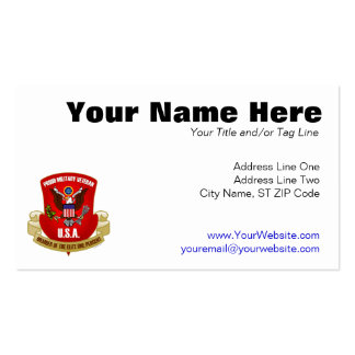 Elite One Percent (Red) Pack Of Standard Business Cards