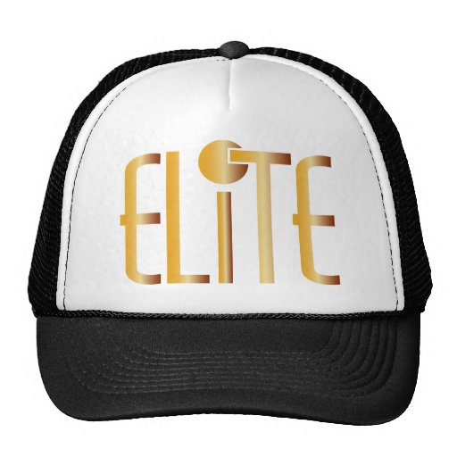 Elite - Pop Fashion Icon Saying Elitist Mesh Hat