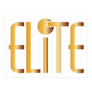 Elite - Pop Fashion Icon Saying Elitist Postcard