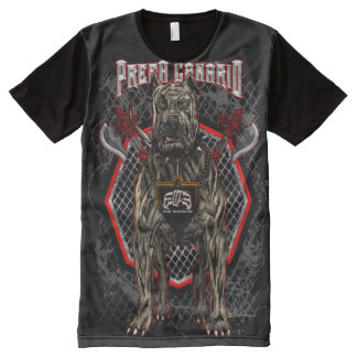 ElitE Presa Canario - Dog Warrior All-Over Print T-Shirt