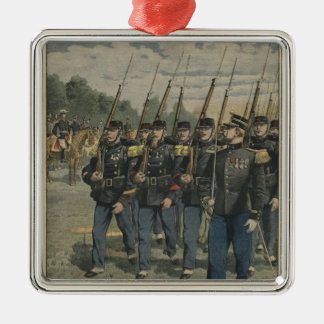 Elite troops of French army Christmas Ornament