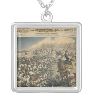 Elite troops of French army, French Foreign Silver Plated Necklace