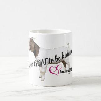 Elite You've GOAT to be kidding me mug (white)