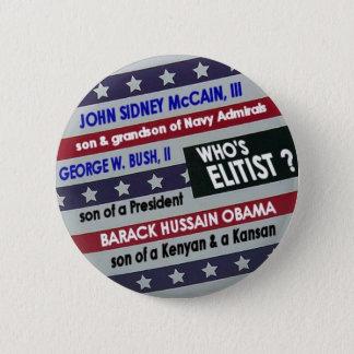 Elitist Stars & Stripes Button