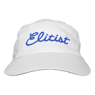 Elitist Woven Hat: Large Logo (blue/white) Hat