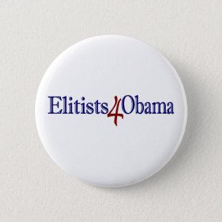 Elitists 4 Obama 6 Cm Round Badge