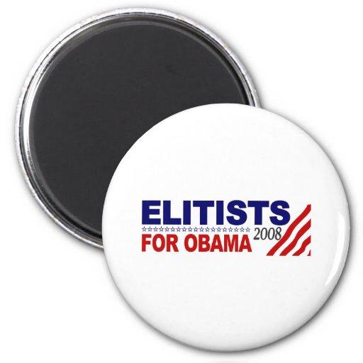 Elitists For Obama Refrigerator Magnet