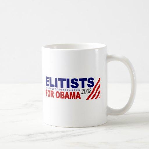 Elitists For Obama Mug