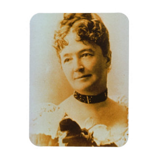 Elizabeth Bacon Custer (1842-1933) wife of General Rectangular Photo Magnet