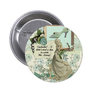 Elizabeth Bennet's Boast 6 Cm Round Badge