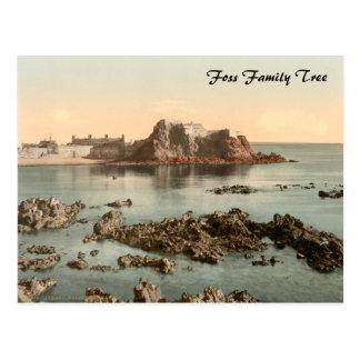Elizabeth Castle, St Heliers, Jersey, England Postcard