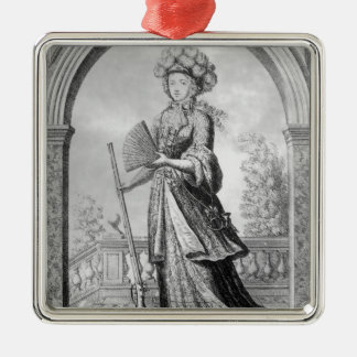 Elizabeth Charlotte of the Palatinate Christmas Ornament