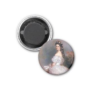 Elizabeth , Empress of Austria, 1865 3 Cm Round Magnet