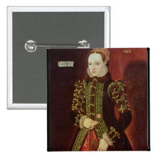 Elizabeth Fitzgerald, Countess of Lincoln, 1560 15 Cm Square Badge